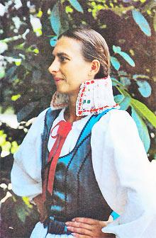 Žena u špicama